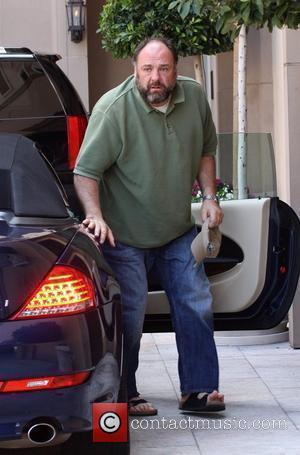 James Gandolfini Celebrities leaving a gifting suite event at the Montage Hotel in Beverly Hills Los Angeles, California - 04.06.10