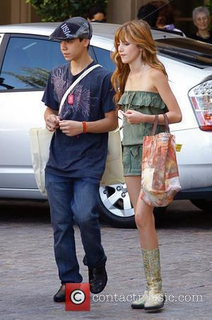 Bella Thorne Celebrities leaving a gifting suite event at the Montage Hotel in Beverly Hills Los Angeles, California - 04.06.10