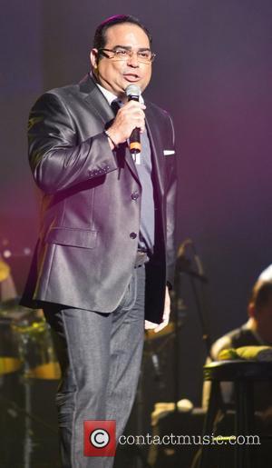 Gilberto Santa Rosa performs at KQ concert at the Jose Miguel Agrelot Coliseum San Juan, Puerto Rico - 26.09.10,