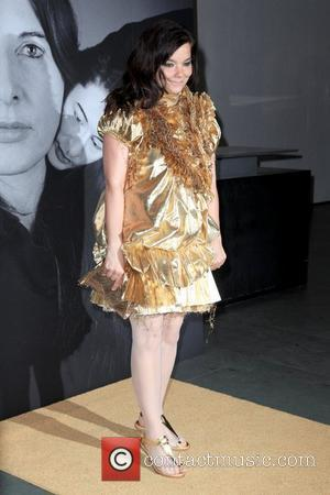 Bjork Givenchy celebrates the closing of Marina Abramovic's 'The Artist is Present' at The Museum of Modern Art - Arrivals...