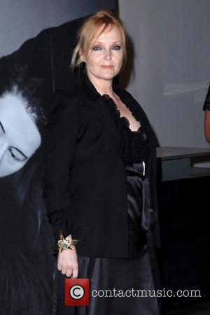 Miranda Richardson Givenchy celebrates the closing of Marina Abramovic's 'The Artist is Present' at The Museum of Modern Art -...