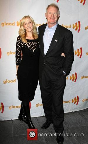 Ed Begley Jr. and wife Rachelle Carson GLAAD Celebrates 25 Years of LGBT Images in the media held at The...