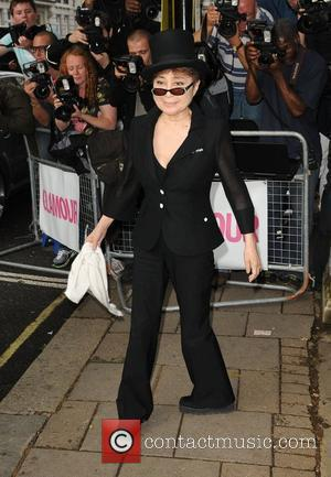 Yoko Ono Glamour Women Of The Year Awards held at the Berkeley Square Gardens - Outside Arrivals. London, England -...