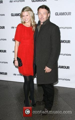 Sarah Gray and Joel Edgerton 5th Anniversary of Glamour Reel Moments presented by Hyundai held at the Directors Guild of...