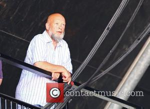 Michael Eavis and Willie Nelson