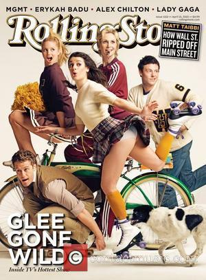 Matthew Morrison, Dianna Agron, Lea Michele, Jane Lynch and Cory Monteith