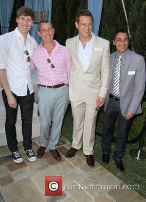 Dustin Lance Black and Adam Shankman