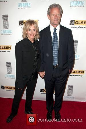 Arleen Sorkin and Christopher Lloyd 6th Annual GLSEN Respect Awards, held at Beverly Hills Hotel - Arrivals Los Angeles, California...