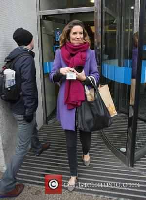 Emma Crosby leaving the GMTV studios London, England - 17.12.09