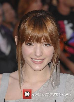 Bella Thorne Gnomeo and Juliet World Premiere, held at the El Capitan Theatre - arrivals Hollywood, California - 23.01.11