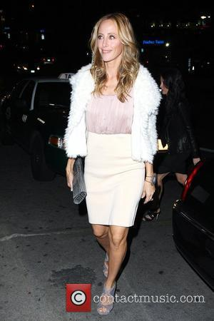 Kim Raver Celebrities arrive at Chateau Marmont for a cocktail party to celebrate the Golden Globe Awards Los Angeles, California...