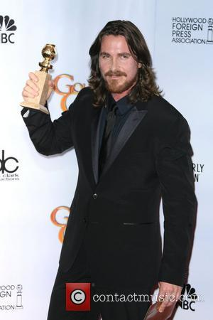 Christian Bale, Golden Globe Awards, Beverly Hilton Hotel