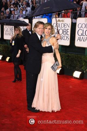 Felicity Huffman and her husband William H Macy 67th Golden Globe awards 2010 held at The Beverly Hilton - Arrivals...