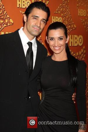 Gilles Marini with his wife 67th Annual Golden Globe awards 2010 official HBO after party held at the Beverly Hilton...