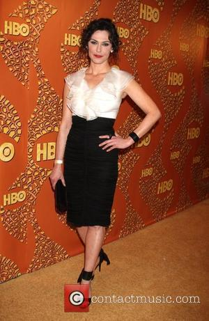 Michelle Forbes 67th Annual Golden Globe awards 2010 official HBO after party held at the Beverly Hilton hotel Los Angeles,...