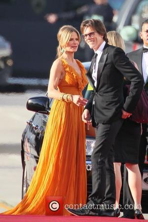 Kyra Sedgwick and Kevin Bacon 68th Annual Golden Globe Awards held at The Beverly Hilton hotel - Arrivals Beverly Hills,...