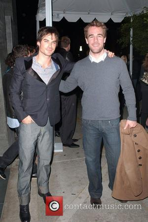 Ian Somerhalder and James Van Der Beek