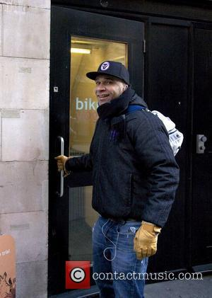 Goldie arriving at the gym London, England - 26.11.10