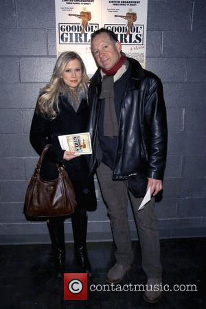 Steve Guttenberg and his girlfriend Anna Gilligan Opening night of the Off-Broadway musical 'Good Ol' Girls' held at the Black...