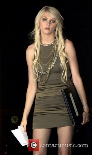 Taylor Momsen,  on the film set of Gossip Girl on location at the Upper East Side. New York City,...