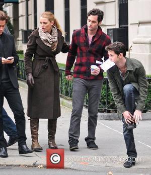 Blake Lively, Gossip Girl and Penn Badgley