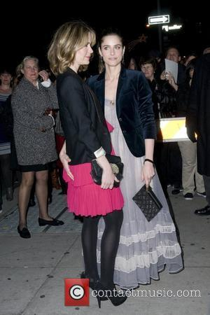 Sarah Paulson and Amanda Peet  IFP's 20th Annual Gotham Independent Film Awards - Cipriani's Wall Street - Outside Arrivals...