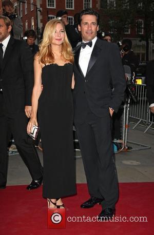 Jennifer Westfeldt and Jon Hamm GQ Man of the Year Awards 2010 held at the Royal Opera House - Arrivals....