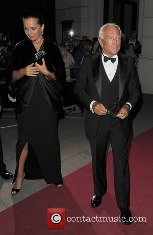 Giorgio Armani leaving the GQ Man of the Year Awards, held at the Royal Opera House. London, England - 07.09.10