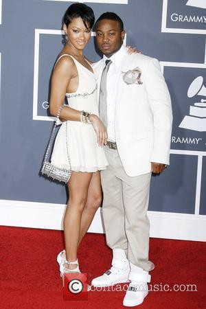 Bria Murphy and Pleasure P 52nd Annual Grammy Awards held at the Staples Center - Red Carpet Los Angeles, California...