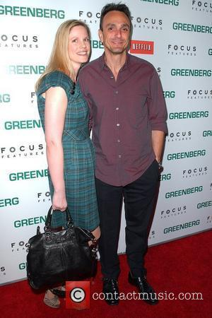 Hank Azaria and guest Los Angeles Premiere of 'Greenberg' at the Arclight Hollywood - Arrivals Los Angeles, California - 18.03.10