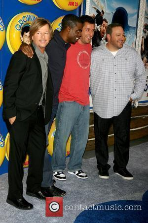 David Spade , Chris Rock, Adam Sandler and Kevin James