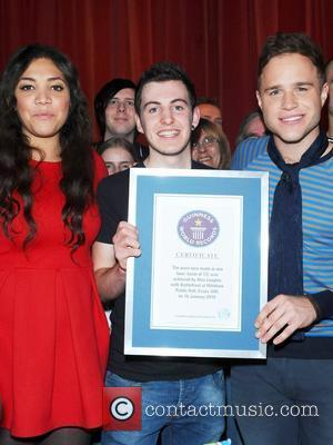Miquita Oliver, Alex Loughlin and Olly Murs Meet Your Street campaign, a celebrity bid to set a new Guinness World...