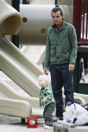 Gavin Rossdale and Son Zuma Rossdale