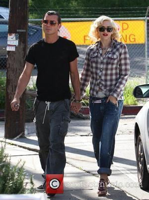 Gwen Stefani and Gavin Rossdale