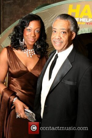 Al Sharpton and daughter Dominique Sharpton  Hope Help & Relief Haiti 'A Night Of Humanity' at Urban Zen New...