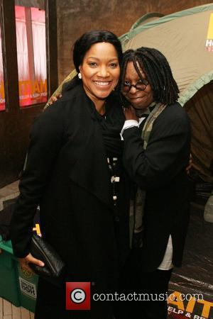 Grace Hightower and Whoopi Goldberg  Hope Help & Relief Haiti 'A Night Of Humanity' at Urban Zen New York...