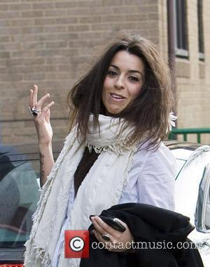 Ruth Lorenzo arrives at the recording studio to record her part on the charity single for earthquake relief in Haiti...
