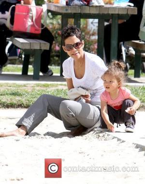 Halle Berry and Nahla Ariela Aubry