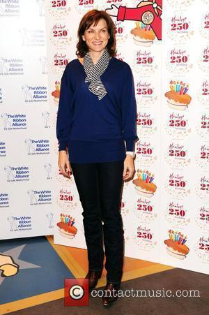 Fiona Bruce  Hamleys' 250th Birthday Party held at Hamleys toy shop on Regents Street - Arrivals London, England -...