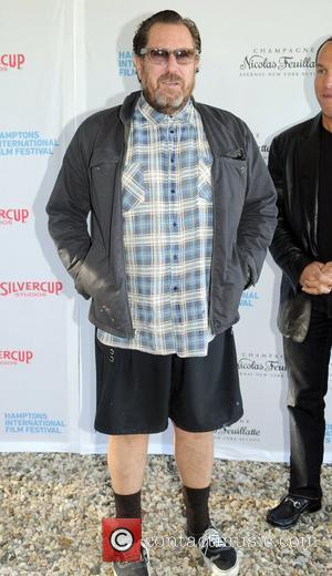 Julian Schnabel attends the Chairmen's Reception during the 18th Annual Hamptons International Film Festival at Private Residence  East Hampton,...