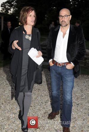 Marcia Gay Harden and Stanley Tucci