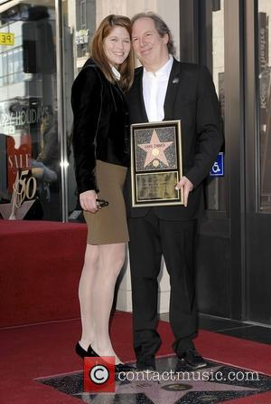 Suzanne Zimmer and Hans Zimmer German composer and music producer Hans Zimmer receives a star on The Hollywood Walk of...