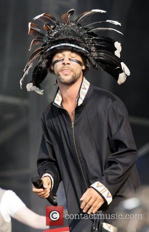 Jay Kay of Jamiroquai performs at day 2 of Hard Rock Calling in Hyde Park in London London, England -...