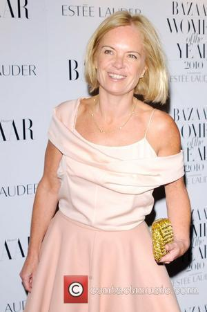 Mariella Frostrup  Harper's Bazaar Women Of The Year Awards Arrivals London, England - 01.11.10