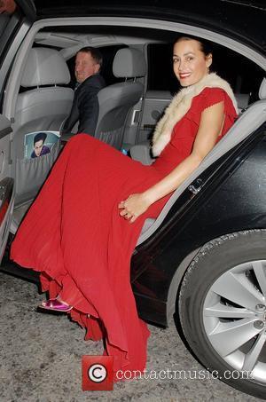 Yasmin Le Bon,  Harper's Bazaar Women Of The Year Awards - Departures. London, England - 01.11.10