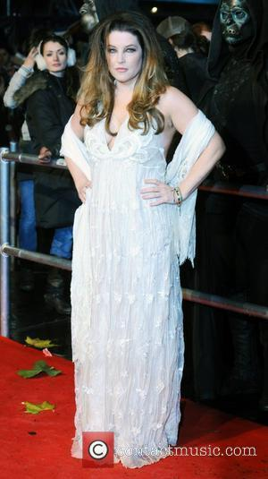 Lisa Marie Presley  World Premiere of 'Harry Potter and the Deathly Hallows Part 1' held at the Odeon Leicester...