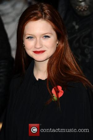 Bonnie Wright and Harry Potter