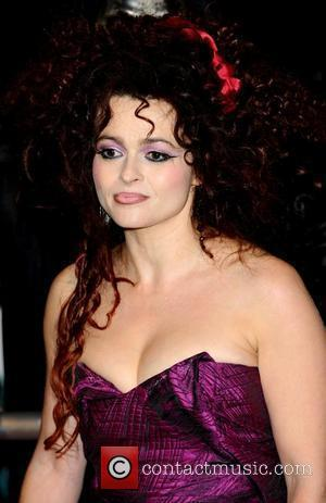 Helena Bonham Carter and Harry Potter