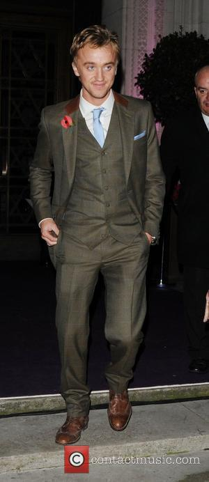 Tom Felton,  at the 'Harry Potter and the Deathly Hallows Part 1' premiere afterparty, held at Freemasons Hall. London,...