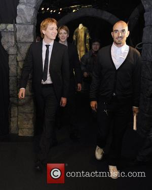 James Phelps and Oliver Phelps  Harry Potter The Exhibition media preview day at the Ontario Science Centre.  Toronto,...